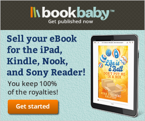 Sell your eBook for the iPad, Kindle, Nook, and Sony Reader!