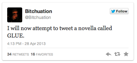 Tweeting a Novella