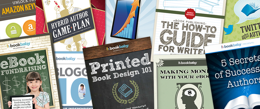 free guides for authors from BookBaby
