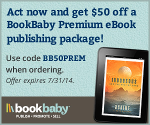Save $50 on a Premium publishing package from BookBaby