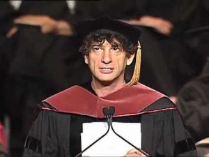 Neil Gaiman graduation speech