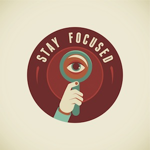 How to stay focused as a writer