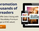 Get free promotion to thousands of readers on Riffle