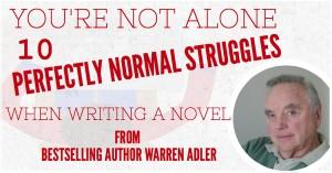 Adler's advice when writing a novel
