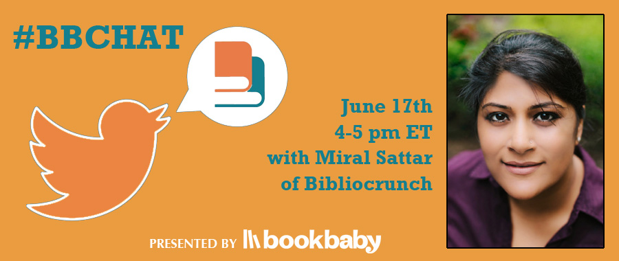 Bookbaby's twitter chat with Miral Sattar