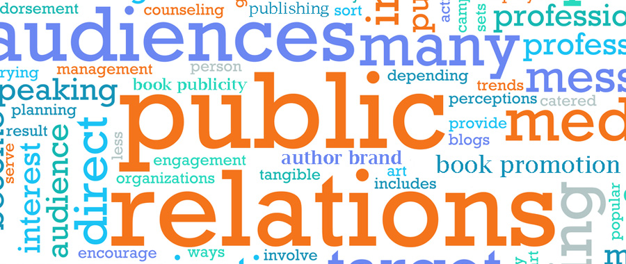 book publicity word cloud