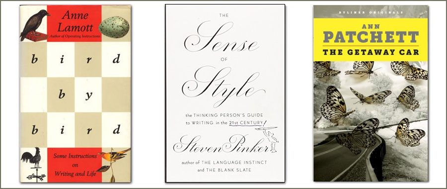 3 books to help you improve your writing