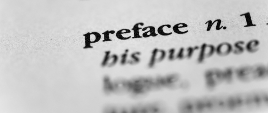 preface your book