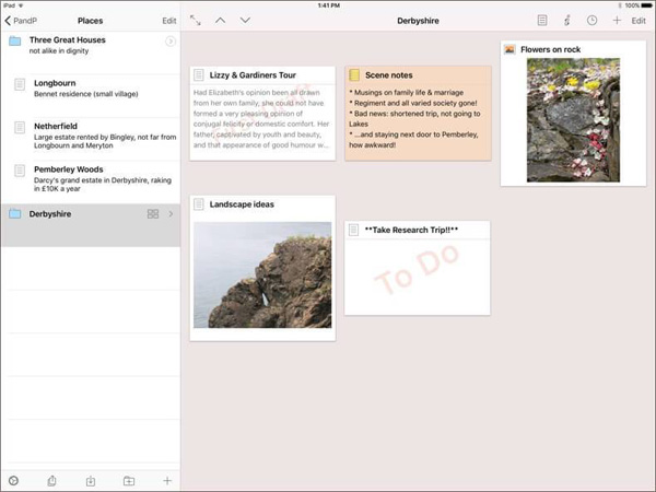 Scrivener for iPad and iPhone