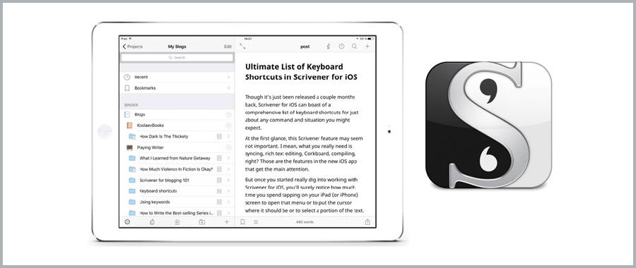 scrivener for iOS