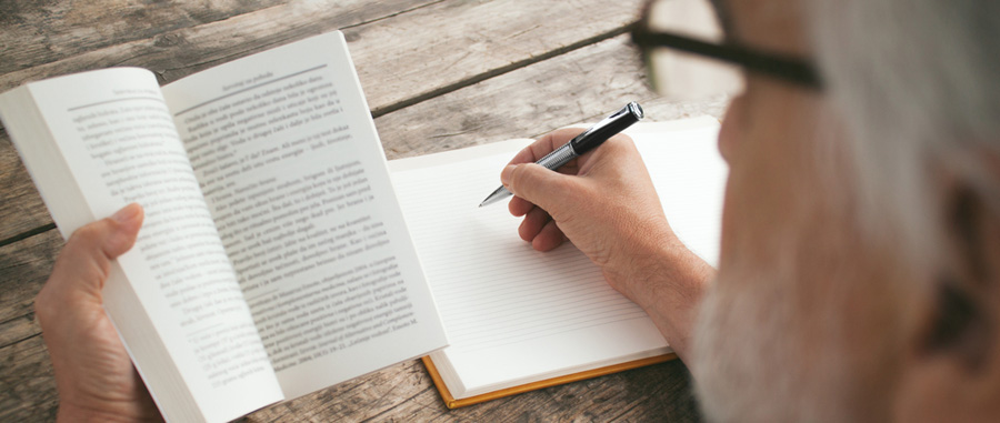 read about writing
