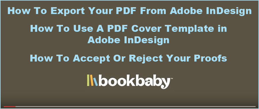 BookBaby how to videos