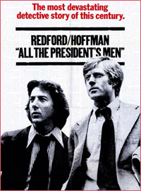 book to film: all the president's men