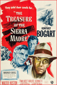 book to film: treasure of sierra madre