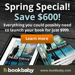 Everything you could possibly need to launch your book for just $999