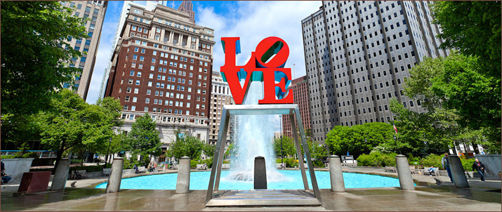 love park Philadelphia attractions