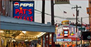 Philadelphia attractions Pat's and Geno's