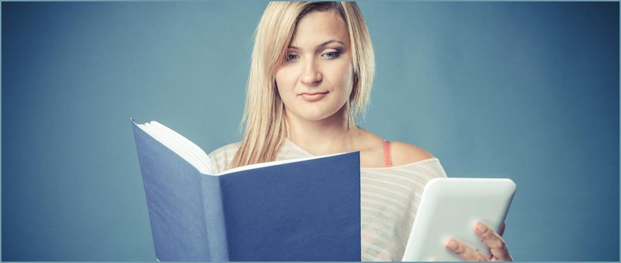 eBooks and printed books