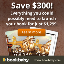 Everything you could possibly need to launch your book for just $1299