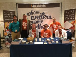 independent authors conference BB Booth