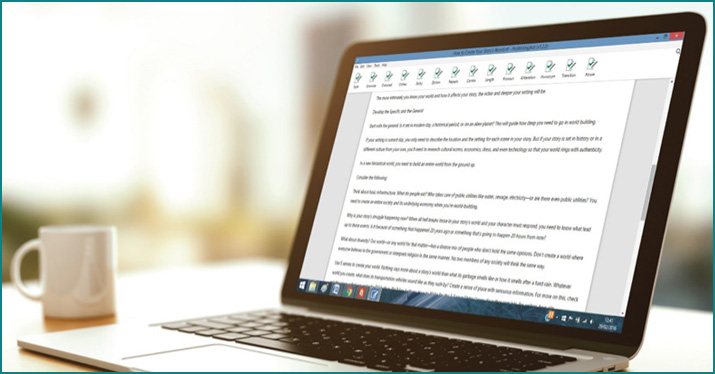 creative writing editing software Slick write is a powerful, free application that makes it easy to check your writing for grammar errors, potential stylistic mistakes, and other features of interest.
