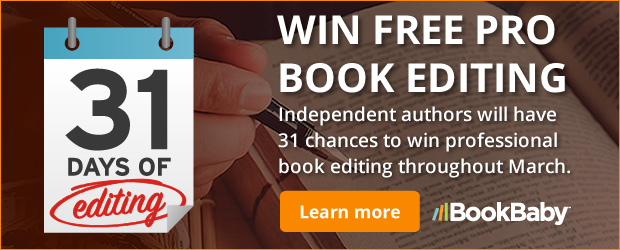 BookBaby Editing Sweepstakes