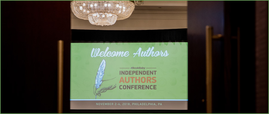 Independent Authors Conference screen