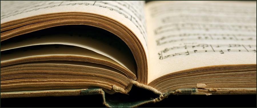 lyrics in books