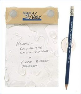 gift ideas for writers Aqua Notes