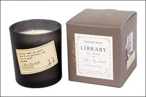gift ideas for writers scented candles