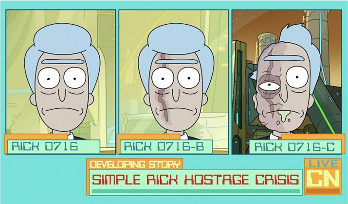 writing lessons rick and morty reporters