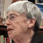 authors who died in 2018 Ursula K LeGuin