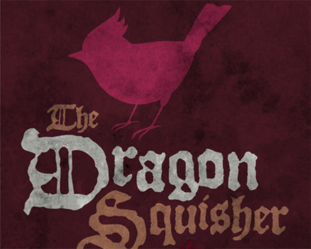 cover design Dragon Squisher